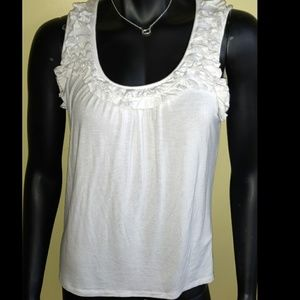 Woman's August Silk soft Stretchy sleeveless tank